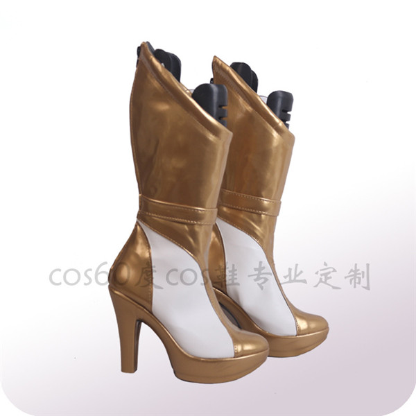 LOL KDA Group Kaisa Ahri Akali Evelynn NEW Cosplay Shoes Boots Adult custom made shoes in Shoes from Novelty Special Use