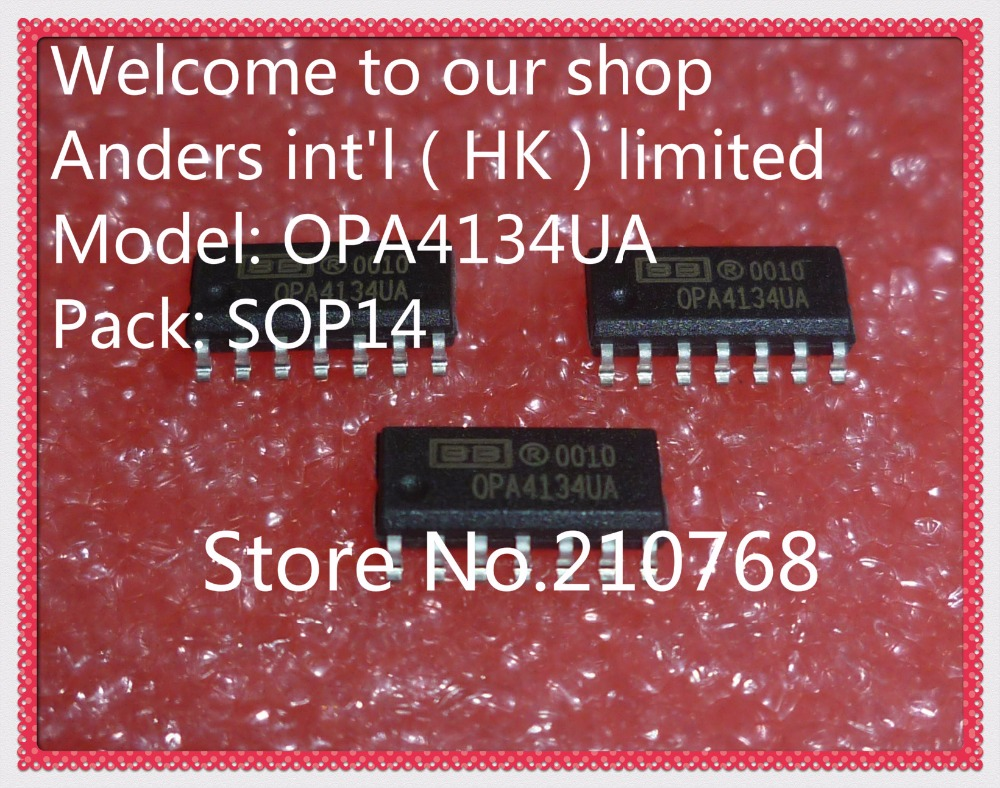 50pcs Lot Opa4134ua 2k5e4 2k5 Opa4134 Sop14 In Electronic Components Integrated Circuitsicsicchina Mainland Circuits From Supplies On Alibaba