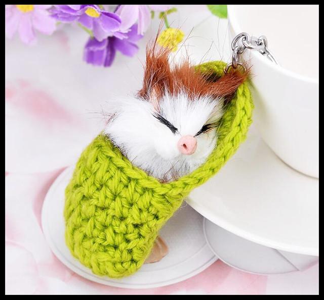 Moda creativo pequeño ratón llavero chicas bolso adornos coche exquisito regalo cumpleaños regalo fiesta favores a estrenar