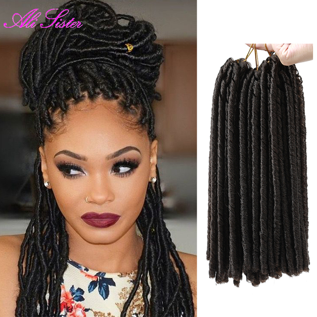 Havana Mambo Twist Faux Locs Hair Extension Crochet Braids