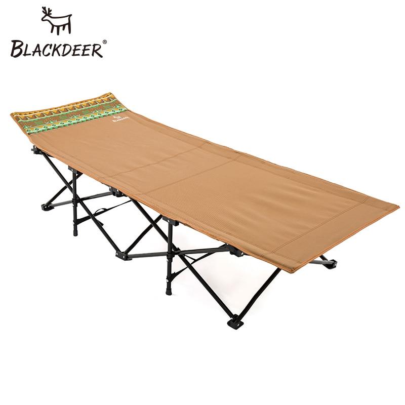 BLACKDEER 2018 Nuovo Materassini da campeggio Robusto Confortevole Portatile Pieghevole Tenda Letto Culla A Pelo Oxford Lettino Da Campeggio All'aperto
