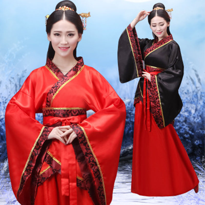 Hot New Hanfu National Costume Ancient Chinese Cosplay Costume Hanfu Women Girls Hanfu Clothes Lady Chinese Stage Weddings Dress