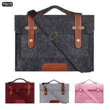 Mosiso 13 133 156 дюймов шерстяной войлок сумка на плечо для
