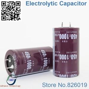 Image 1 - 5pcs/lot 450V 1000UF Radial DIP Aluminum Electrolytic Capacitors size 35*50 1000UF 450V Tolerance 20%