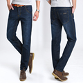 Al por mayor Marca de Moda vaqueros rectos de cintura alta pantalones de ropa masculina pantalones de mezclilla 2016 verano homme jean Pantalones 28-40