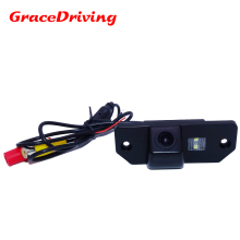 Free shipping CCD 1/3 Car Rear view Camera Parking Back Up Reversing For Ford Focus(3)/2008/2010 Focus(2) Night vision