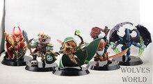 New 5pcs/lot Dota 2 Game Action Figure Toys PVC Action Figures Collection dota2 Models New Arrive High quality
