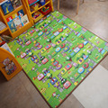 Hot Sale 1.8*1.2M Kids Play Mat  Happy Zoom Baby Crawling Mat Two Sides Child Beach  Picnic Carpet Wholesale