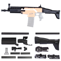 WORKER F10555 3D Printing Modularized NO 152 Front Tube Tail Stock Kit For Nerf Stryfe