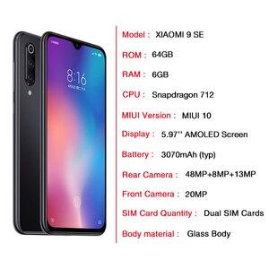 Image 2 - Xiaomi mi 9 SE versión Global mi 9 iPhone 6GB 64GB 128GB teléfono móvil Snapdragon 712 Octa Core 48MP Triple Cámara Smartphone NFC