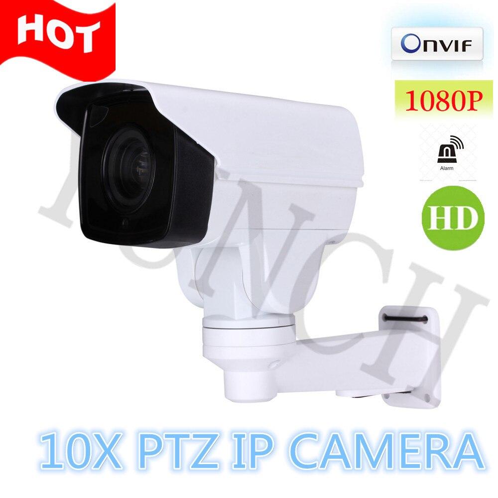 Plein Hd 1080 P 2 0 M Gapixels Ir R Seau Bullet Ip Ptz Mini Cam Ra