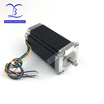 Nema 23 Stepper Motor 57BYGH112 425oz-in 112mm 3A CE ROHS ISO 3D Printer Robot Foam Plastic Metal image