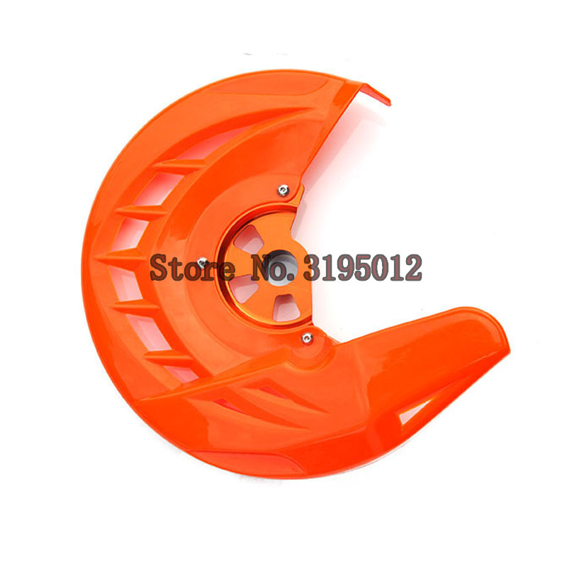 Front Brake Disc Rotor Guard Cover Protector Protection For KTM SX SXF XC XCF EXC EXCF 125 200 250 300 350 450 530 cnc stunt clutch lever easy pull cable system for ktm exc excf xc xcf xcw xcfw mx egs sx sxf sxs smr 50 65 85 125 150 200 250