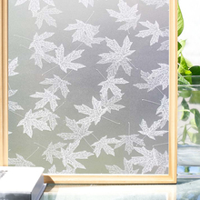 Funlife Decorative Window Film, Privacy Opaque Frosted Glass Vinyl Self-adhesive Anti-UV Sticker