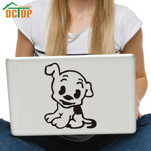 DCTOP Funny Cute Puppy Decorative Vinyl Wall Decals Animals Dog Waterproof Art Stickers Removable Laptop Sticker