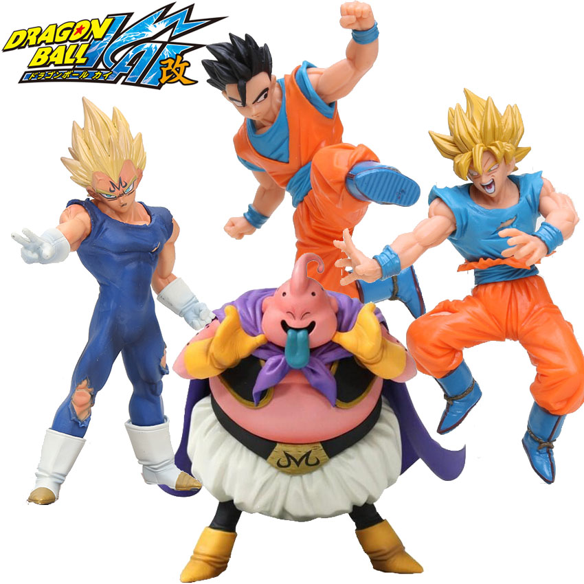Anime 17cm Dragon Ball Z Action Figures Son Goku Super Saiyan Gohan Vegeta Dxf Anime Dragonball Kai Figures Model Toys Dbz Gift Grade Products According To Quality Toys & Hobbies
