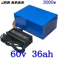 60V 35AH Lithium Batterij 60V 1500W 2000W 3000W Elektrische Scooter Batterij 60V 30AH 35AH Elektrische Fiets Batterij Met 5A Lading