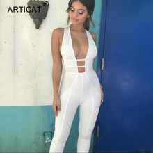Cotton Hollow Out Jumpsuit