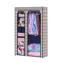105*45*175CM Closet Organizer Storage Rack Portable Clothes Hanger Home Garment Shelf Rod cloth storage closet