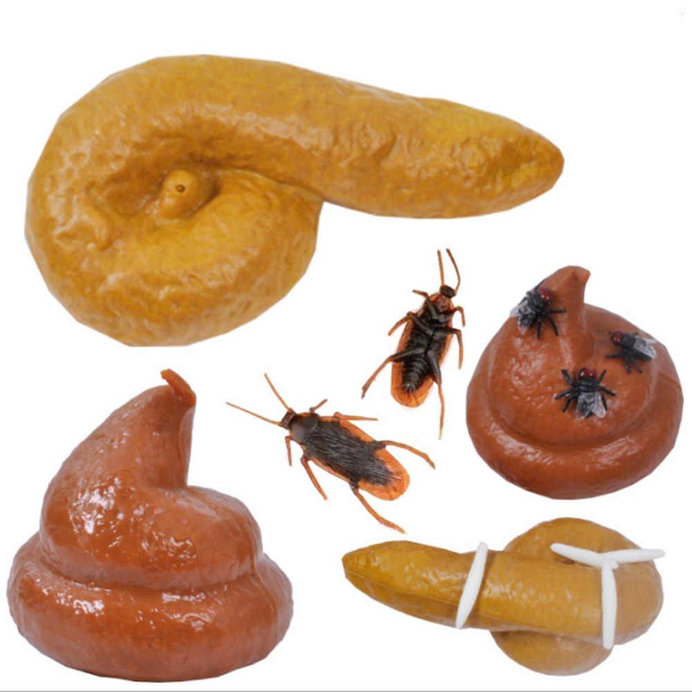 Prático Gag-Joke Engraçado Tricky Brinquedos Mal Presente Da Mordaça Cocô Realista Caga Merda Poop Turd Falsificação Moda Engraçado Brinquedos