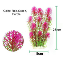 New Plastic Aquarium Artificial Plant Decoration Fish Tank