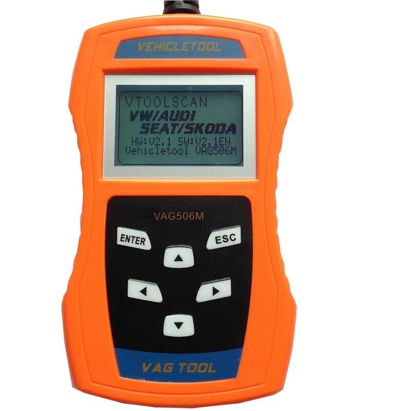 Best Car Diagnostic-tool VAG506M Auto Diagnostic Scanner Automotive Vag Scanner Scantool Double K-Line