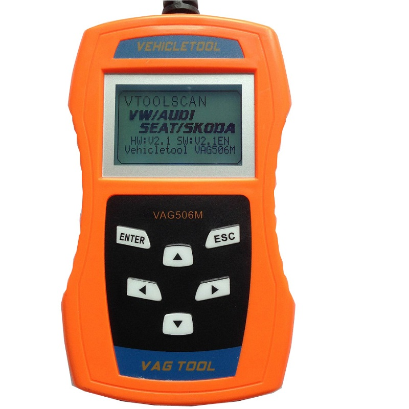 Melhor ferramenta de Diagnóstico Do Carro-VAG506M Vag Auto Scanner De Diagnóstico Automotivo Scanner Scantool Duplo K-Linha