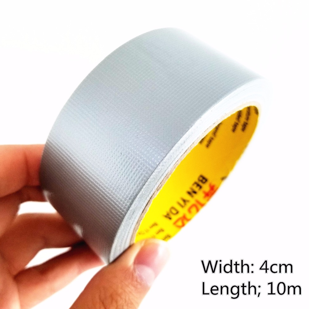 1pc DS205 Duct Tape Width 4cm Silver Gray Color Carpet Tape Wedding Celebration Tape Free Shipping