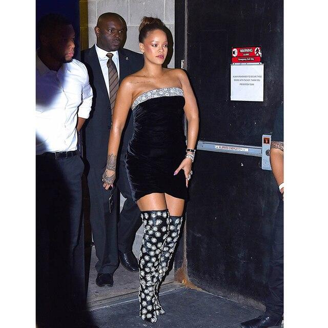09f353fadfb 2018 celebrity style fashion nova cold shoulder backless lace decoration black  fashion nova strapless slip velvet wrap dress