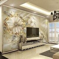custom-3d-mural-wallpaper-european-style-diamond-jewelry-golden-flower-backdrop-decor-mural-modern-art-wall-painting-living-room