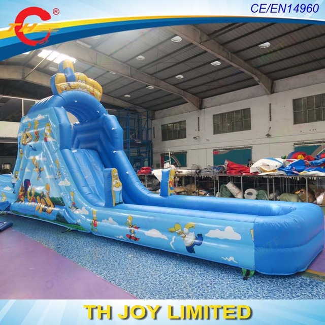 Delicieux Free Shipping Commercial Grade Backyard Kids Inflatable Water Slides, Inflatable  Slide,giant Simpson Inflatable