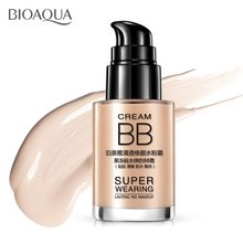 30ML Compact Size Facial Makeup BB Cream Whitening Moisturizer Oil-Control Base Liquid Foundation Concealer Cream