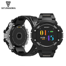 Купить с кэшбэком VESTMADRA F7 GPS Smart Watch Waterproof Color Screen Activity Tracker Realtime Heart Rate Altimeter Barometer Outdoor Smartwatch