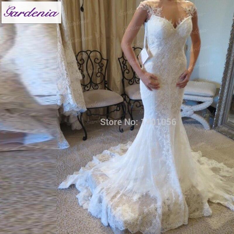 Unique Wedding Dresses For Mature Brides : Lace wedding dresses unique mature women bridal gowns chic in