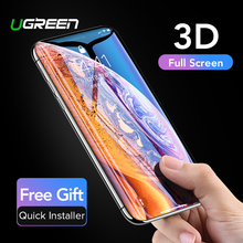 Ugreen For iPhone 7 Glass On iPhone 7 6 6s 8 8plus X XS Max XR 3D Hydrogel Full Screen