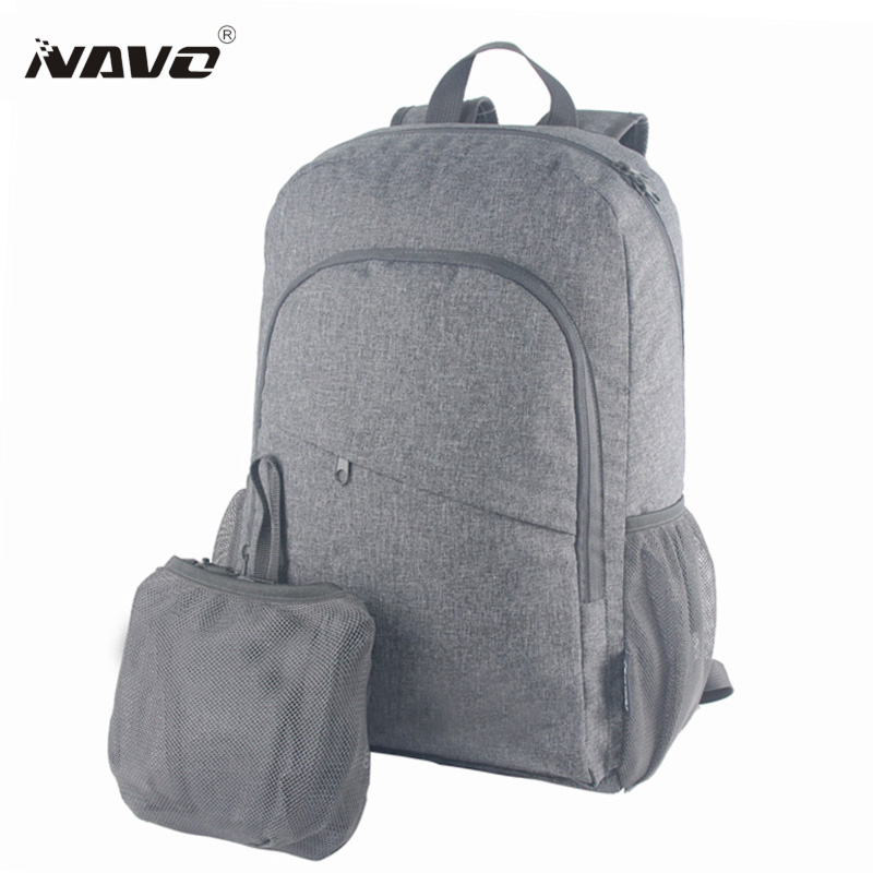 NAVO 2017 New Womens Men Casual Nylon Backpack Folding Backpack Fashion Durable School Bag Rucksack Travel Bags Mochila 2016 men women nylon backpack folding portable outdoor travel multifunction hiking rucksack sports bag casual school bag mochila
