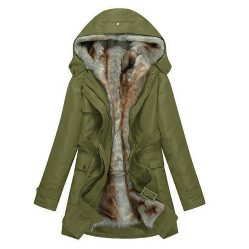 Fashion winter jacket Women Warm Coat Parkas With Hood Removable Fur lining Thick Oversized Basic женские пуховики куртки women winter jacket lj361 women warm coat