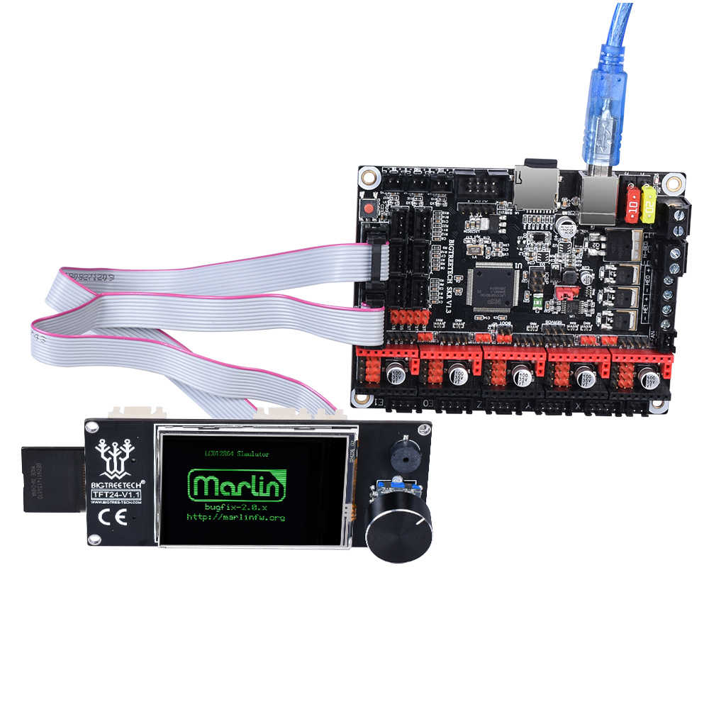 BIQU BIGTREETECH TFT24 V1.1 色のタッチスクリーンと 12864 Lcd ディスプレイモード MKS クローナ V1.3 プロエンダー 3 3D ボード