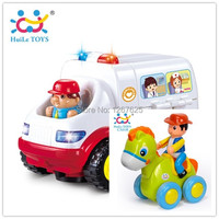 Educativos Eletricos Veiculos Ambulance Brinquedos Baby Friction Bebe Toys Free Shipping 836 366C