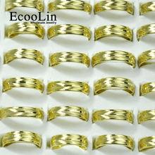 Кольца ecoolin из нержавеющей стали для мужчин и женщин брендовые