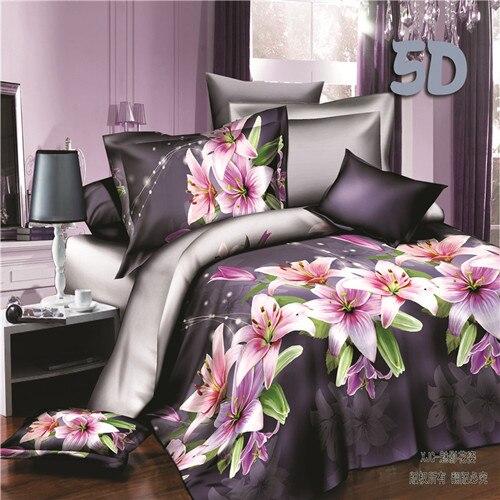 Juwenin домашний текстиль, 3d постельного белья, 4 шт. из постельное белье наволочку, по ...