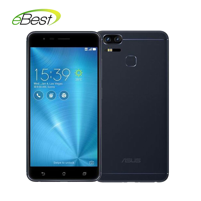 "ASUS Zenfone 3 Zoom ZE553KL Mobile Phone 4GB RAM 5.5"" AMOLED FHD Snapdragon625 5000mAh dual 12MP 2.3x opical zoom camera phone"