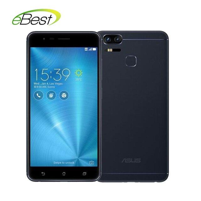 "Asus zenfone 3 зум ze553kl мобильного телефона 4 ГБ ram 5.5 ""AMOLED FHD Snapdragon625 5000 мАч dual 12MP 2.3x opical зум камеры телефона"