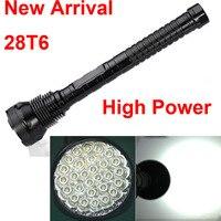 28 X XML T6 28T6 LED 45000 Lumens High Power 5Modes Glare Flashlight Torch Working Lamp
