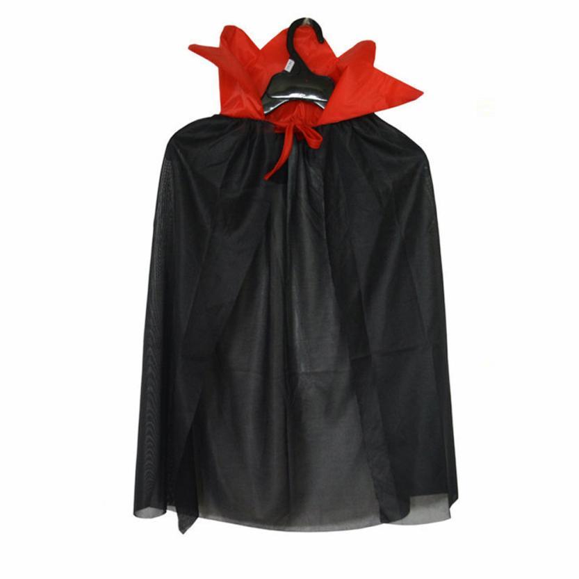 livraison gratuite 9bc2e 7bed4 € 2.94 27% de réduction Noir et Rouge Enfants Halloween Costume Assistant  Sorcière Manteau Cape Robe Vêtements pour Garçon Fille Août 15 dans Vestes  ...