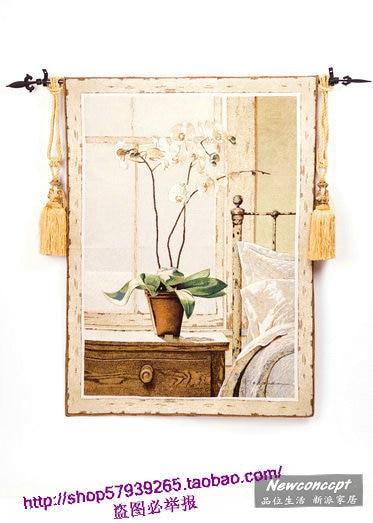 Fashion tapestry fresh home decorative painting tapestry mural wall decorative painting hot seller