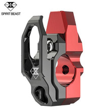 SPIRIT BEAST Motorcycle Hook Decoration Handlebar Modified Accessories Helmet Handle Mirror Mount
