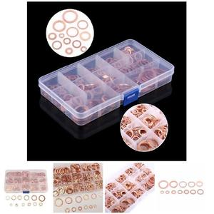 Image 5 - 280Pcs/Set Seal Assortment Set Copper Washer Gasket Nut Oil Copper Rings Discs MAL999
