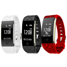 S2 Bluetooth Smart Band Waterproof 0.96 inches OLED Wristband Heart Rate Pedometer Sleep Fitness Tracker Smart Bracelet