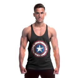 Captain america gyms clothing bodybuilding stringer tank top fitness cotton undershirt men vest muscle shirt sleeveless.jpg 250x250